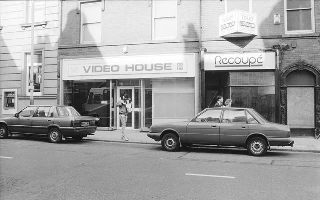 Video House and Recoupe Shops, Stephenson Place, Chesterfield, 1991
