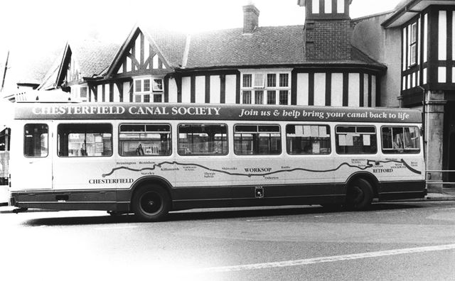 Bus, Knifesmithgate, Chesterfield, 1995