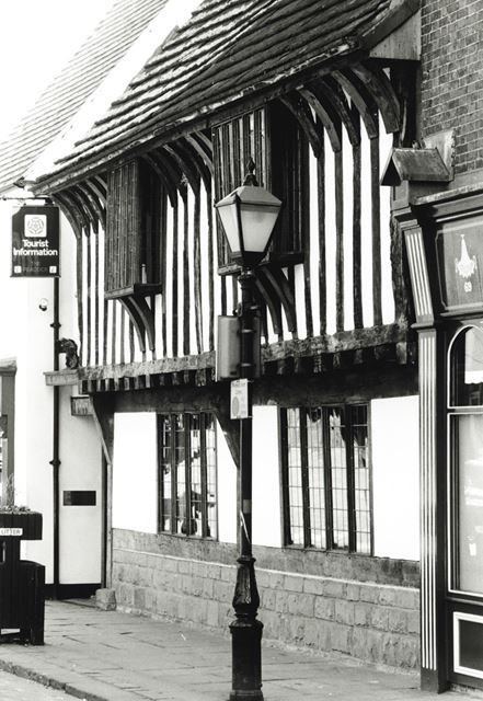 Peacock Tourist Information Centre, Low Pavement, Chesterfield, 1989