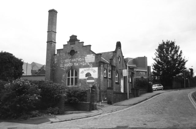 Old Slipper Baths, South Place, Chesterfield, 2002