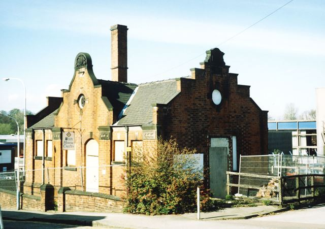 Old Slipper Baths, South Place, Chesterfield, 2004