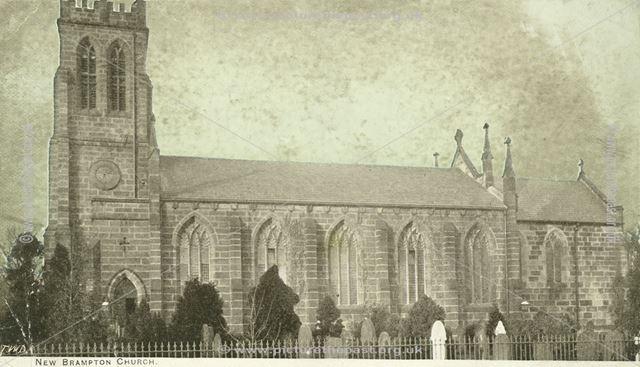 St Thomas's Church, Brampton, c 1904