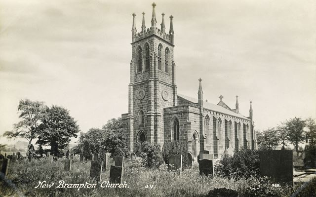 St Thomas's Church, Brampton, Chesterfield, c 1910