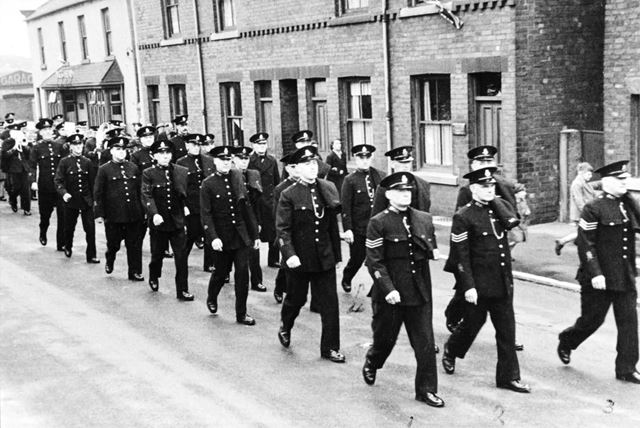 V E Day Parade of Special Constables