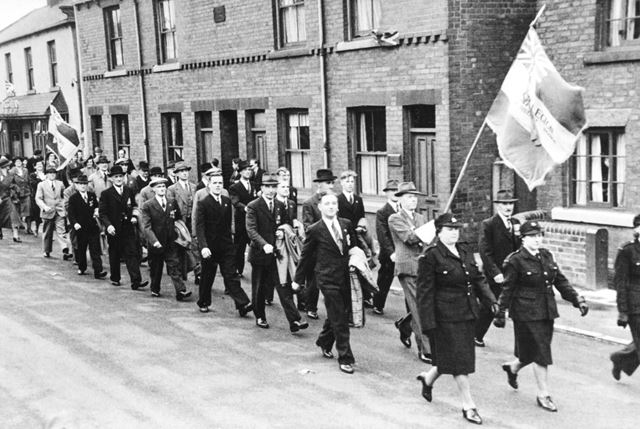 The British Legion March, Staveley