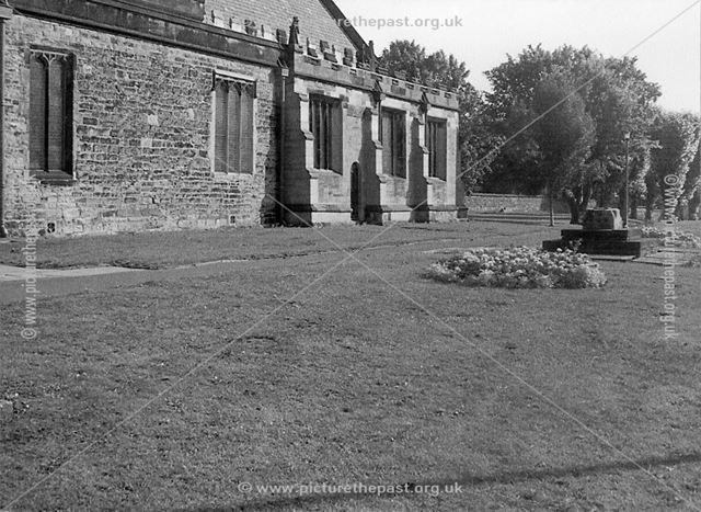 Exterior of St John's Church, Staveley