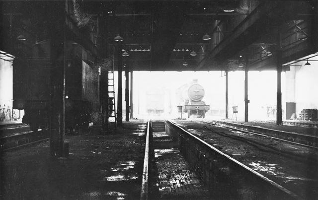 Interior of engine shed