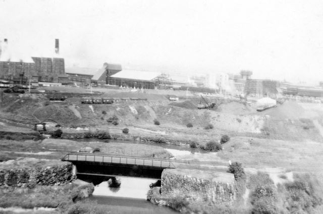 Staveley Works and River Rother
