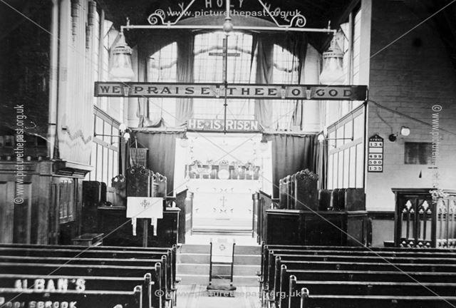 Interior of St Alban's Church