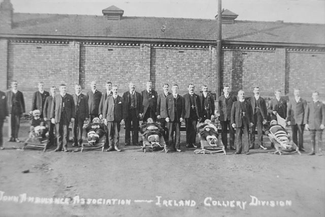 St John Ambulance, Ireland Colliery Division
