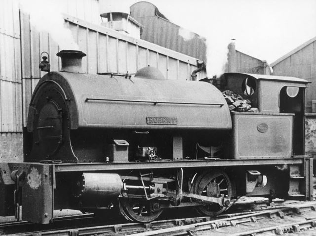 Engine 'Robert' at Staveley Works