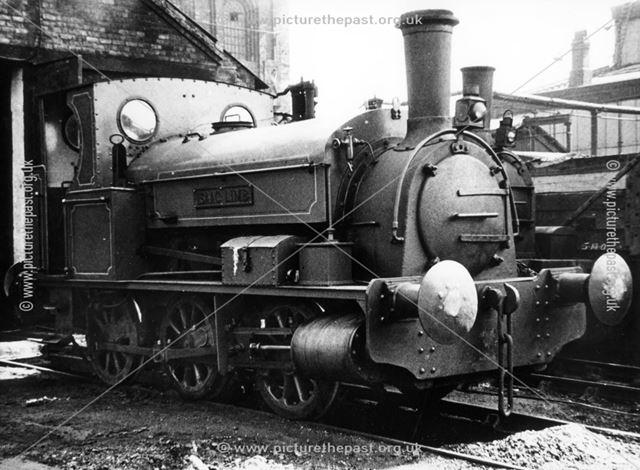 Engine 'Isaac Limb' at Staveley Works