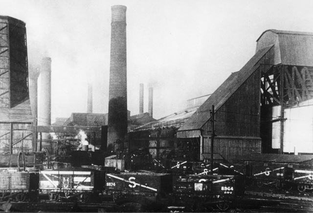 General View of Staveley Works