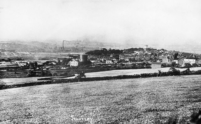 General View of Staveley Works and Central Staveley