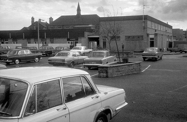 Staveley Market Place Car Park, 1976