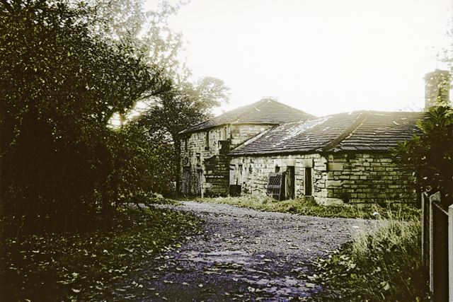 Stables at Staveley Hall, Church Street, Staveley, 1976