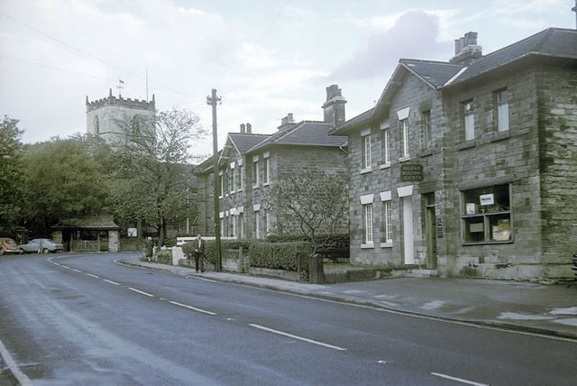 Conservation Area on High Street, Staveley, 1976