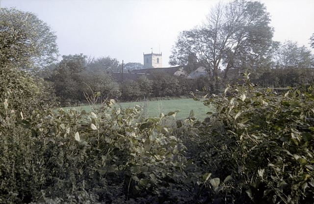 Parish Church, off Duke Street, Staveley, 1976