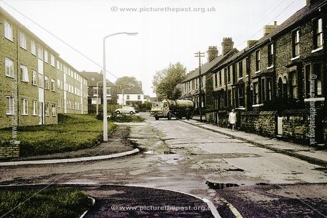 Porter Street, Staveley, 1976