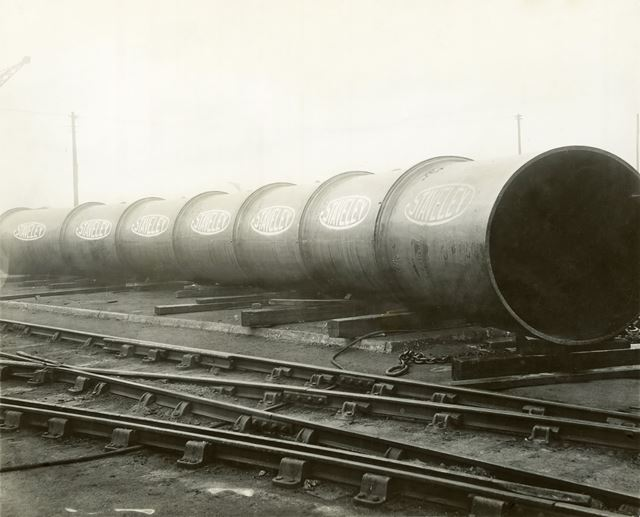Finished Pipes at Devonshire Works