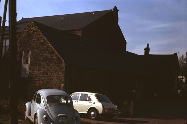 Stables for the Devonshire PH, High Street, Staveley, c 1980s