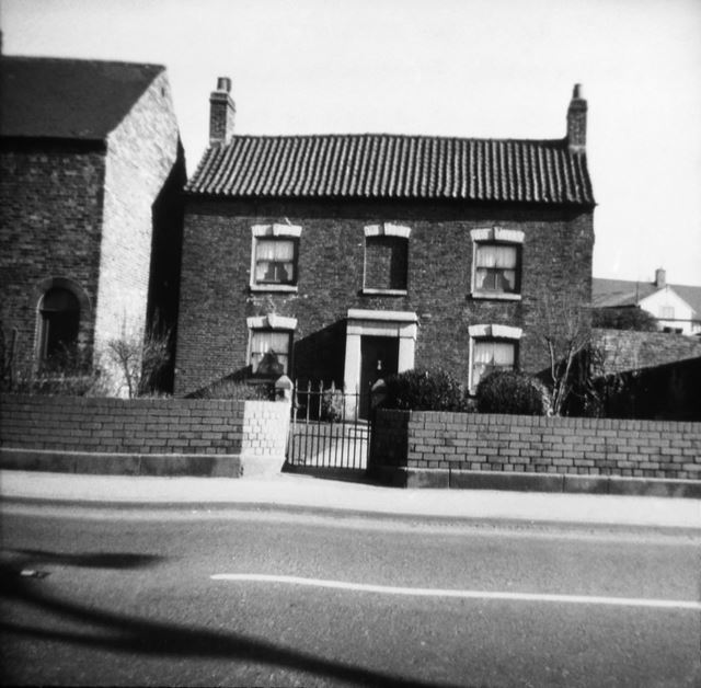 Home of Miss Winterbottom, Chesterfield Road, Staveley, c 1930s ?