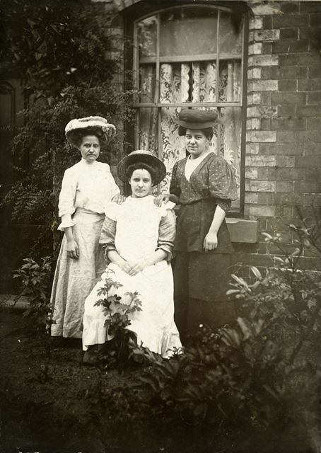 Statham Sisters, Providence Street, Ripley, c 1910