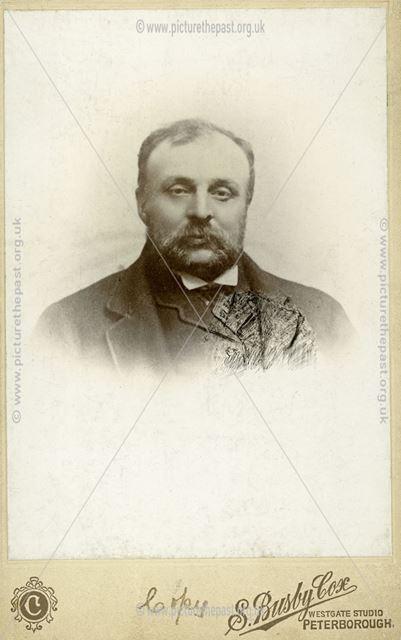 Portrait of Unknown Man, Ripley, c 1900
