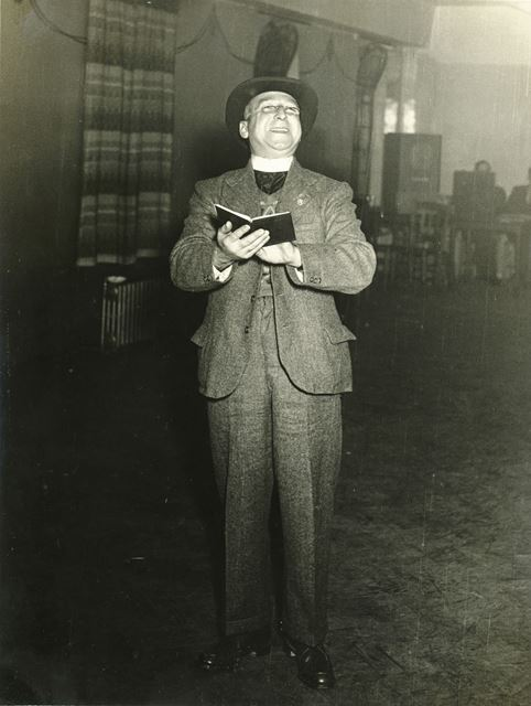 Clergyman or possiably Actor, Ripley, c 1950s