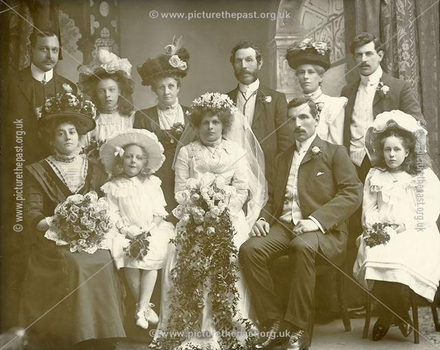 Unknown Group Wedding, Ripley, c 1905