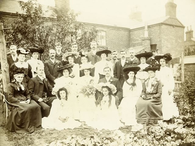 Unknown Group Wedding, Ripley, c 1910