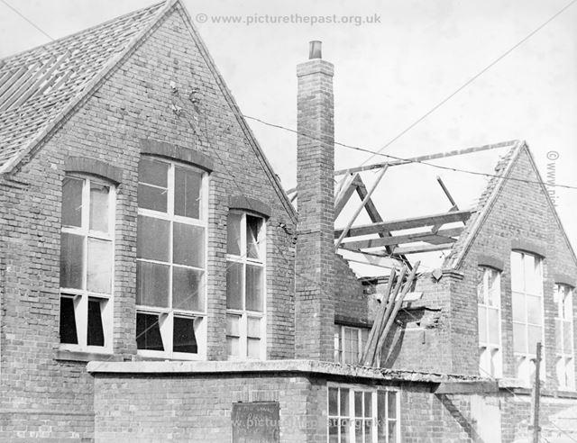 Old St John's School, Marehay, Ripley, c 1950
