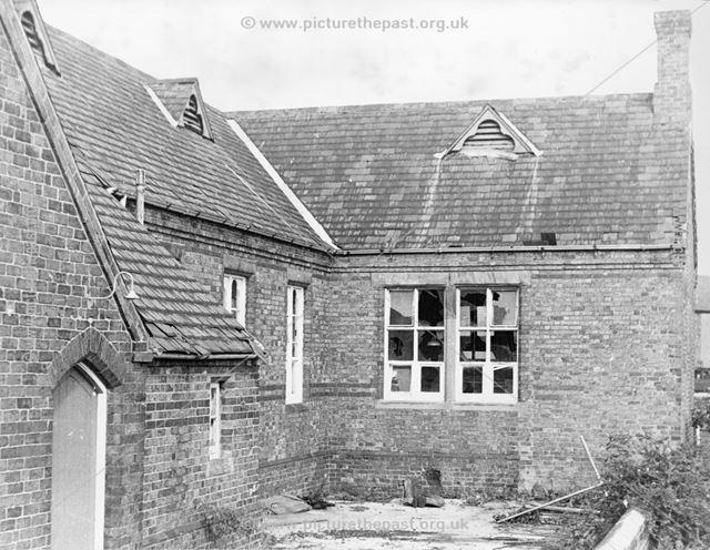 Old St John's School, Marehay, Ripley, c 1970s