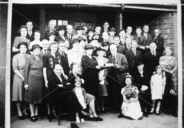Presentation to Dr. Pooler, Stonebroom, c 1940