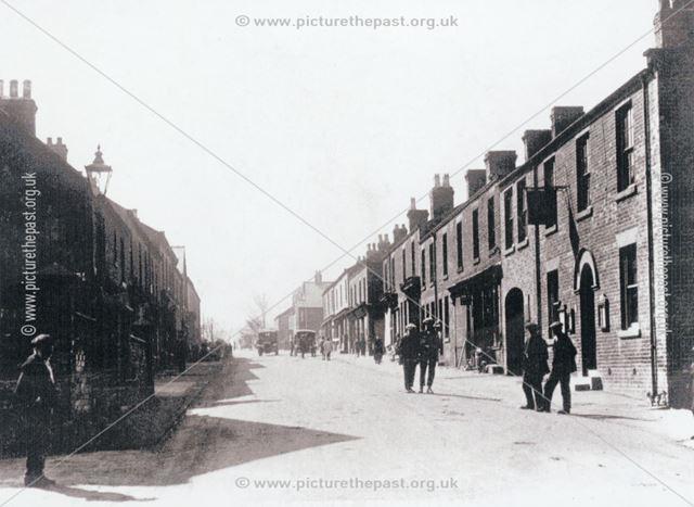 The Star Public House, High Street, Stonebroom, c 1920