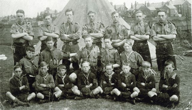 Stonebroom Scout Group, c 1950s