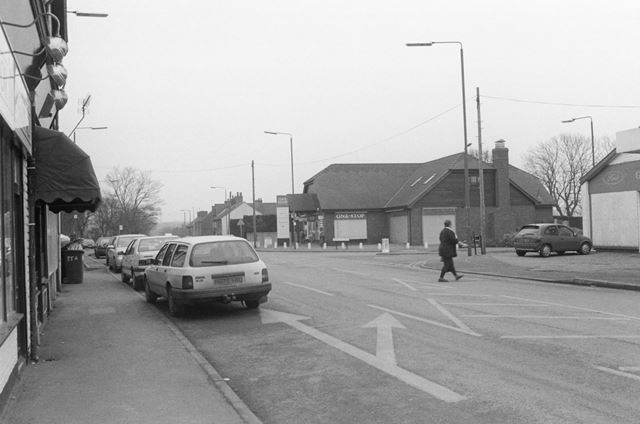 One Stop Convenience Store, Church Street Looking North, Church Gresley, 2002