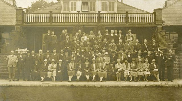 Ripley Motor Club Visit to Fort Dunlop, Erdington, Birmingham, 1927