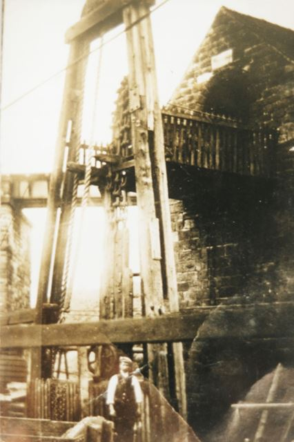 Beam Engine at Pentrich Colliery, Asher Lane, Pentrich, c 1914