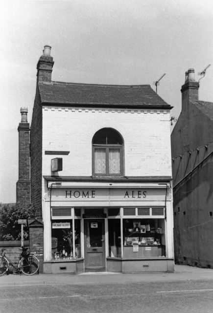 'Home Ales', Nottingham Road, Ripley, c 1960s