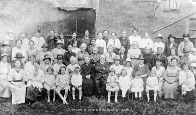 Church Group, Ripley, c 1920