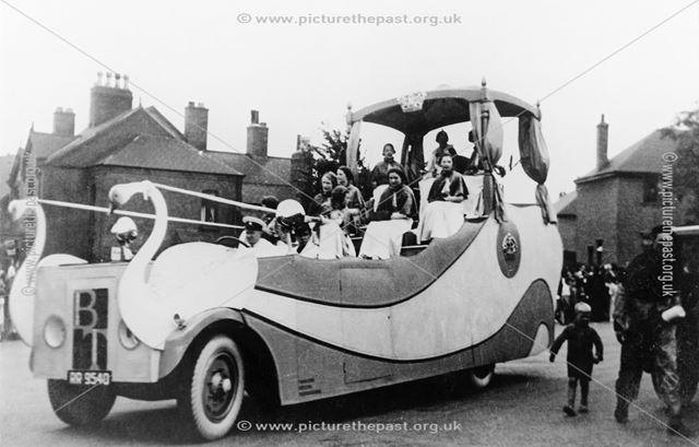 Carnival Float, Ripley, c 1930
