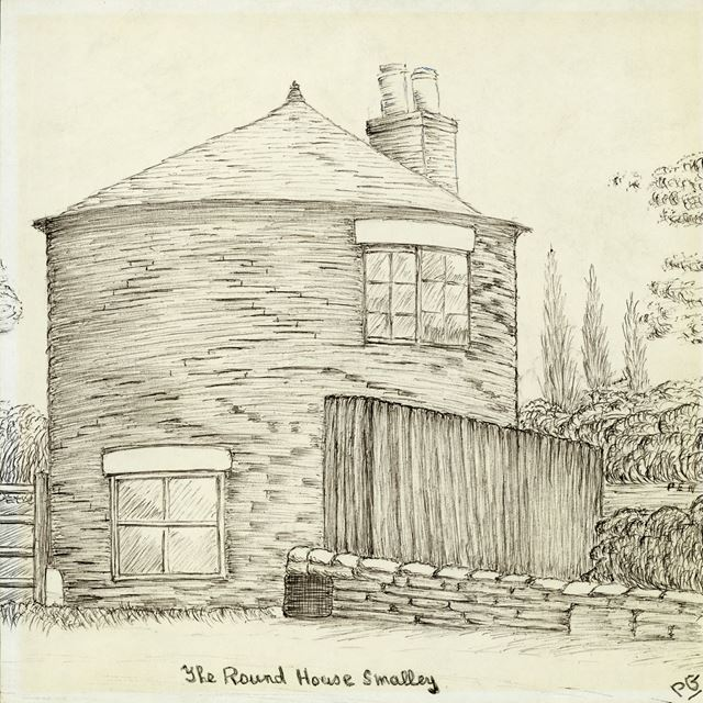The Roundhouse, Main Road, Smalley, pre 1950
