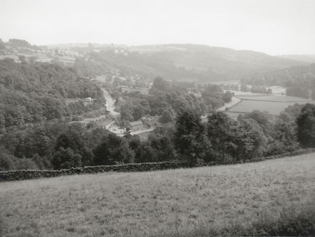 View of Johnson's Bugalow, Whatstandwell, c 1950s