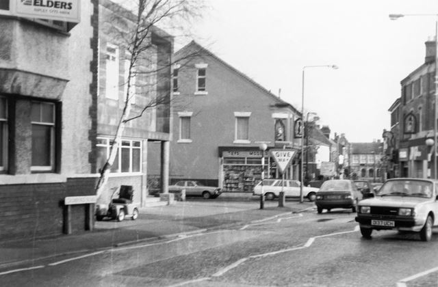 Cromford Road - Moseley Street, Junction, Ripley, 1980s