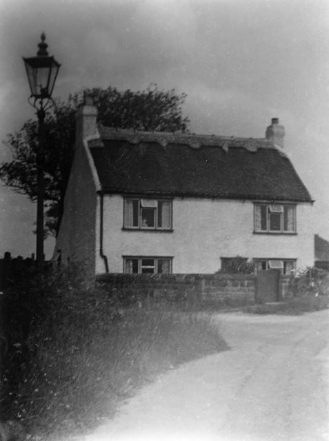 Filsell's Cottage, Main Road, Pentrich, c 1950