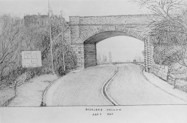 Railway Bridge, Buckland Hollow, c 1970s?