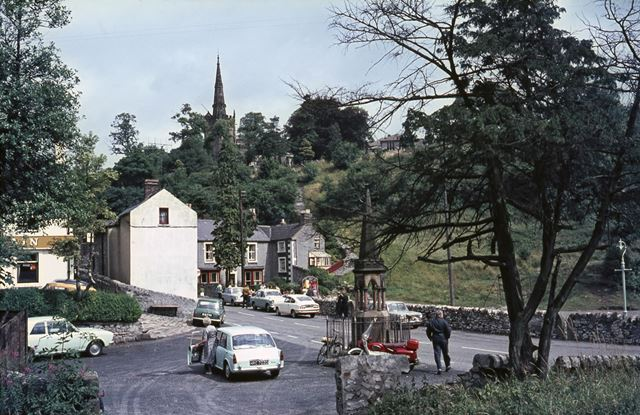 Water Fountain, Church Street, Bonsall, 1965