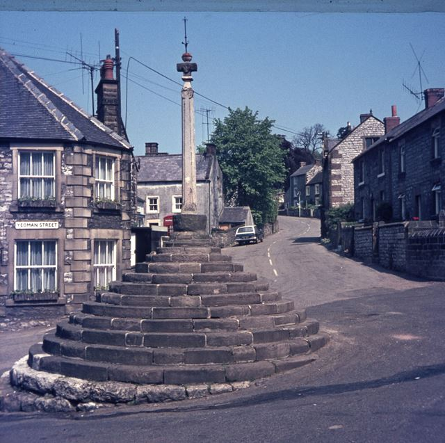Bonsall Cross, Church Street, Bonsall, 1965