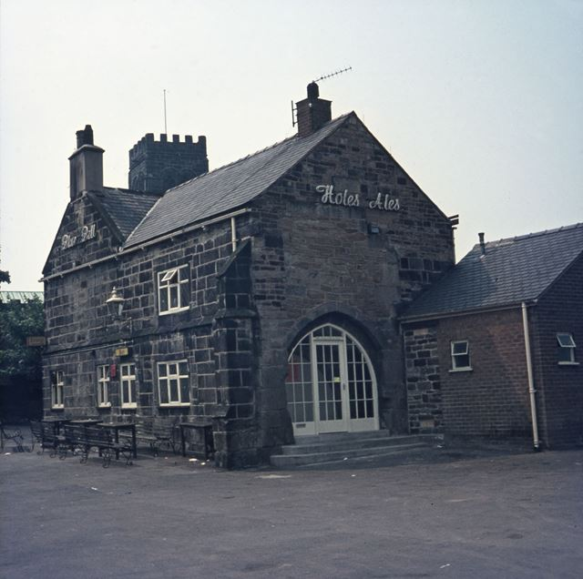 Blue Bell Public House, off Station Road, North Wingfield, 1960s